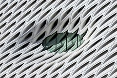 Abstract Architectural lines background texture. Abstract Architectural background 3D curves stock illustration