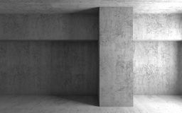 Abstract architectural background. Empty room Stock Image