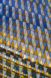 Abstract architectural background. Windows, Stockholm Royalty Free Stock Image