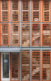 Abstract architectural blinds Stock Photo