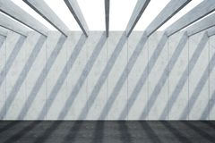 Abstract architectural concrete composition stock photography