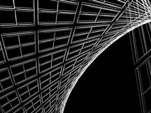 Abstract architectural construction Stock Photography
