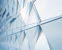 Abstract architectural  illustration Stock Photography