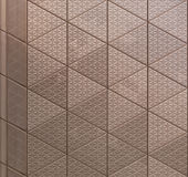Abstract architectural metal texture Royalty Free Stock Image
