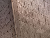 Abstract architectural metal texture Stock Photo