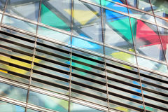 Abstract architectural pattern Royalty Free Stock Photography