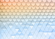 Abstract architectural pattern Stock Image