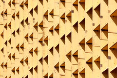 Abstract architectural. The photograph of a facade with symmetrically arranged windows Stock Image