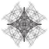 Abstract architectural sketch. Art Royalty Free Stock Photo