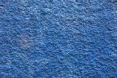 Abstract architectural texture of the wall. Close-up plaster drywall exterior blue finish texture Royalty Free Stock Images