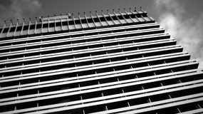 Abstract architectural urban view Royalty Free Stock Photos
