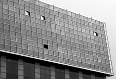 Abstract architectural view Stock Photos
