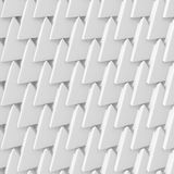 Abstract architectural white triangle low poly background. 3d render illustration Vector Illustration