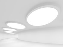 Abstract Architecture. 3d Illustration of Abstract Architecture Background or Wallpaper Stock Photos