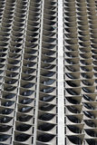 Abstract Architecture. Of a High Rise Building Royalty Free Stock Photography