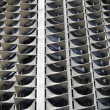 Abstract Architecture. Of a High Rise Building Stock Photo