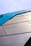 Abstract architecture. View. Glass, plastic and metal constructions Stock Image