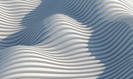 Abstract Architecture. 3D render of abstract architecture Stock Image