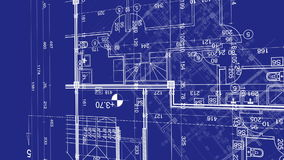 Abstract architecture background blueprint house plan with sketch abstract architecture background blueprint house plan with sketch of city animated in background stock footage video of residential built 93850302 malvernweather Choice Image