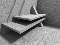 Abstract architecture background. Concrete wall construction Stock Images