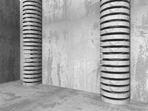 Abstract Architecture Background. Concrete Walls Construction Royalty Free Stock Photos