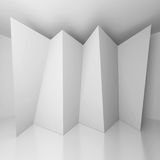 Abstract Architecture Background. 3d Illustration of White Abstract Architecture Background Royalty Free Illustration