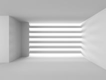 Abstract Architecture Background. Empty Interior With Window. 3d Render Illustration Stock Photography