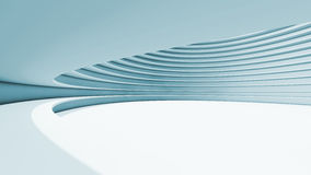 Abstract Architecture background. Internal space Stock Photo
