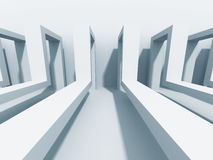 Abstract Architecture Background. Modern Construction Wallpaper Royalty Free Stock Photo