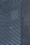Abstract architecture background with striped walls Stock Images