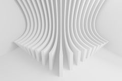Abstract Architecture Background. White Circular Building Royalty Free Stock Photography