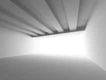 Abstract Architecture Background. White Interior Design Royalty Free Stock Image