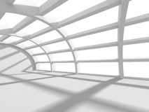 Abstract Architecture Background. White Interior Design Royalty Free Stock Photography