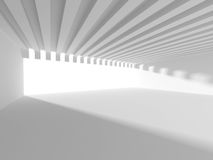 Abstract Architecture Background. White Interior Design Stock Photos