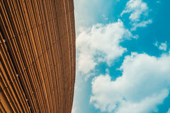 Abstract architecture and blue sky Stock Photos