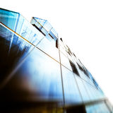 Abstract architecture. Building design and 3d model my own Royalty Free Stock Photos