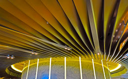 Abstract architecture ceiling design Royalty Free Stock Photos