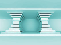Abstract Architecture Column Design Background Royalty Free Stock Photo