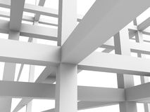Abstract Architecture Construction Structure Background Stock Image