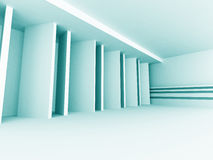Abstract Architecture Design Empty Interior Background. 3d Render Illustration Stock Images