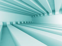 Abstract Architecture Design Futuristic Background. 3d Render Illustration Stock Photo