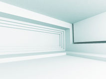 Abstract Architecture Design Interior Background. 3d Render Illustration Royalty Free Stock Photography