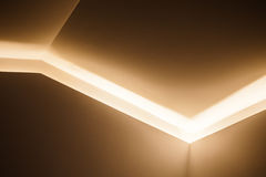 Abstract architecture design, light niche Royalty Free Stock Photography