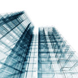 Abstract architecture. Architecture design and model my own stock illustration