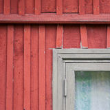 Abstract architecture detail old wooden house Royalty Free Stock Images