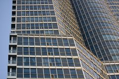 Abstract architecture details. High-rise modern building Stock Photos