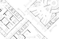 Abstract architecture floor plan Stock Photo