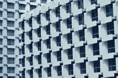 Abstract architecture fragment and windows Royalty Free Stock Images