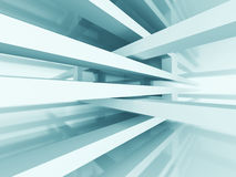 Abstract Architecture Futuristic Design Background Stock Photo