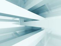 Abstract Architecture Futuristic Design Background. 3d Render Illustration Stock Images